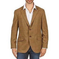 Vêtements Homme Vestes / Blazers Hackett TWEED WPANE Marron