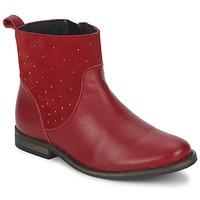 Chaussures Fille Boots Citrouille et Compagnie BELFINE Rouge