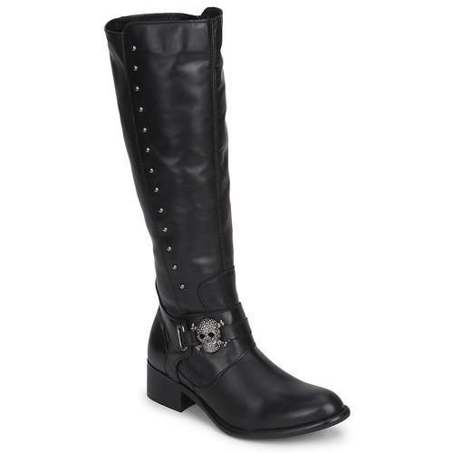 Chaussures Femme Bottes ville Betty London RIME ROCK Noir