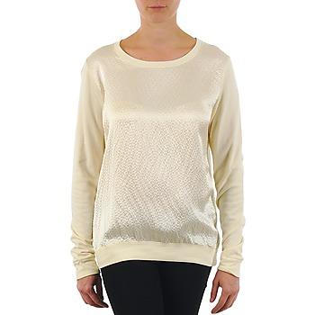 Vêtements Femme T-shirts manches longues Majestic 237 Ecru
