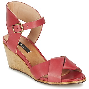 Chaussures Air max tnFemme Sandales et Nu-pieds Neosens NOAH Rouge