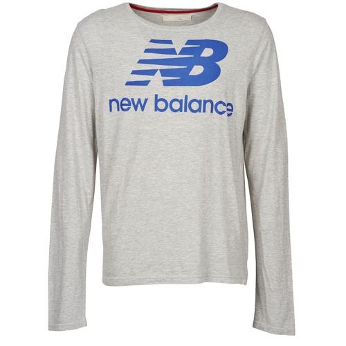 Vêtements Homme T-shirts manches longues New Balance NBSS1403 LONG SLEEVE TEE Gris