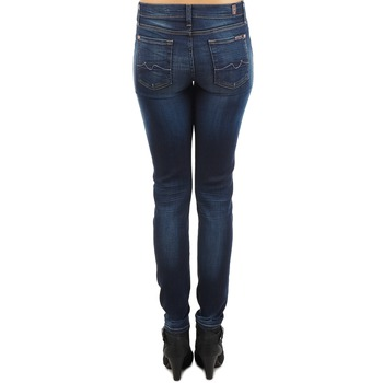 7 for all Mankind THE SKINNY NEW ORL FLAME Bleu
