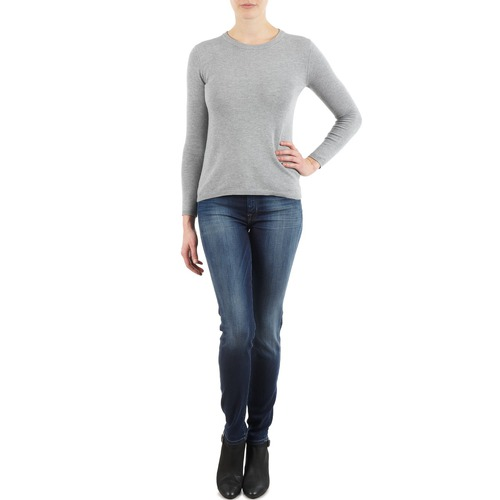 Vêtements Femme Jeans slim 7 for all Mankind THE SKINNY NEW ORL FLAME Bleu
