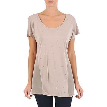 Vêtements Femme T-shirts manches courtes La City MC BEIGE Beige