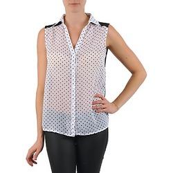 Vêtements Femme Chemises / Chemisiers La City O DEB POIS Blanc