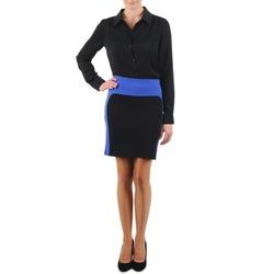 Vêtements Femme Jupes La City JMILBLEU Noir / Bleu
