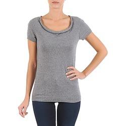 Vêtements Femme T-shirts manches courtes La City PULL COL BEB Gris