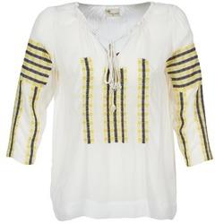 Vêtements Femme Tops / Blouses Stella Forest ATU025 Blanc / Gris / Jaune