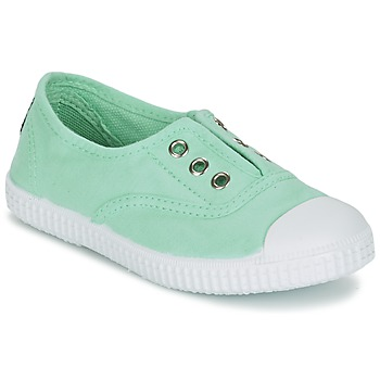 Chaussures Fille Baskets basses Chipie JOSEPE Vert opale