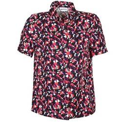 Vêtements Femme Chemises manches courtes American Retro NEOSHIRT Noir / Rose / Orange