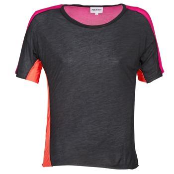 Vêtements Femme T-shirts manches courtes American Retro CAROLE Noir / Rose
