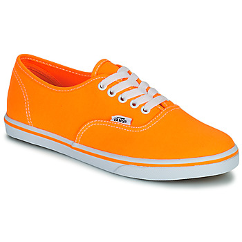 Chaussures Air max tnFemme Baskets basses Vans AUTHENTIC LO PRO Orange pop