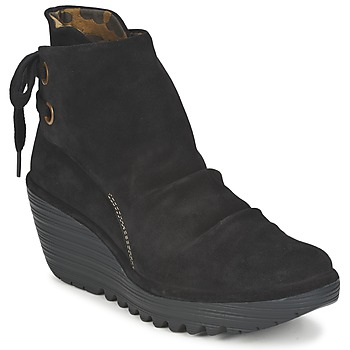 Chaussures Femme Bottines Fly London YAMA Noir