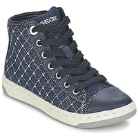 Chaussures Air max tnFille Baskets montantes Geox CREAMY B Marine