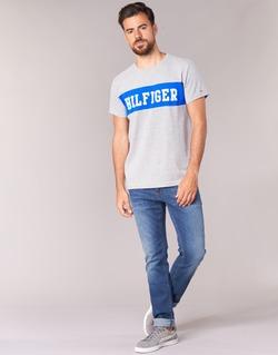 Vêtements Homme Jeans slim Tommy Jeans SLIM SCANTON MIDC Bleu medium