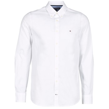 Chemises manches longues Tommy Hilfiger STRETCH POPLIN