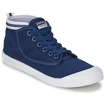 Basket montante Volley HIGH LEAP Navy / Blanc