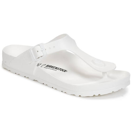 Chaussures Femme Tongs Birkenstock GIZEH EVA Blanc
