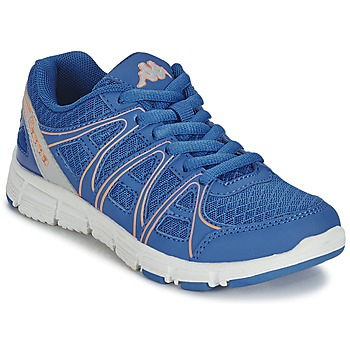 Chaussures Fille Baskets basses Kappa ULAKER Bleu / Orange