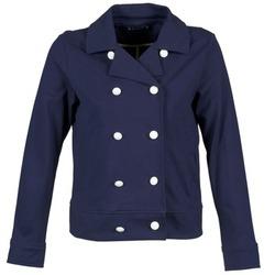 Vêtements Femme Vestes / Blazers Petit Bateau FLORINE Marine