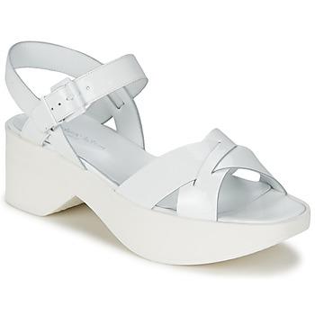Chaussures Air max tnFemme Sandales et Nu-pieds Stéphane Kelian FLASH 3 Blanc