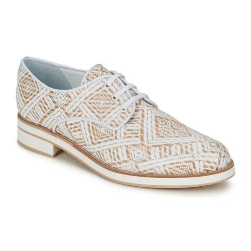 Chaussures Femme Derbies Stéphane Kelian HUNA 7 Blanc