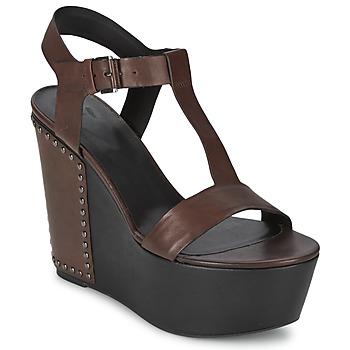 Chaussures Femme Sandales et Nu-pieds Vic GIBSON Marron