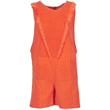 Vêtements Femme Combinaisons / Salopettes Brigitte Bardot BB44084 Corail