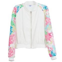 Vêtements Femme Vestes Brigitte Bardot BB44045 Blanc / Multicolore