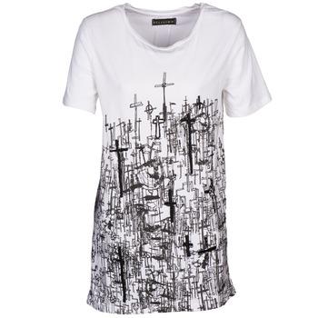 Vêtements Femme T-shirts manches courtes Religion B123CND13 Blanc