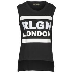 Vêtements Femme Débardeurs / T-shirts sans manche Religion B123RGT41 Noir