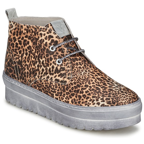 Chaussures Femme Baskets montantes Ylati BAIA F Leopard