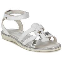Chaussures Fille Sandales et Nu-pieds Mod'8 HOPAL Blanc