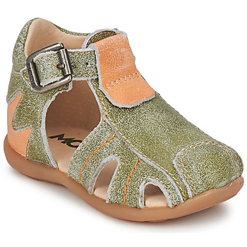 Chaussures Garçon Sandales et Nu-pieds Mod'8 ALUCINE Vert/Orange
