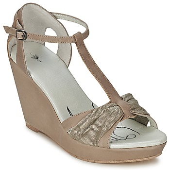 Chaussures Femme Sandales et Nu-pieds One Step CEANE Taupe/doree taupe