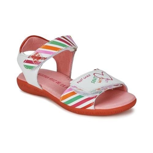 Agatha Ruiz de la Prada CAZOLETA Blanc / Multicolore