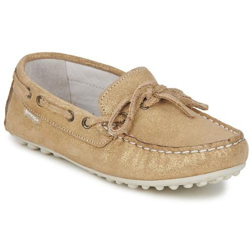 Chaussures Fille Mocassins Garvalin KIOWA JUVENIL Doré