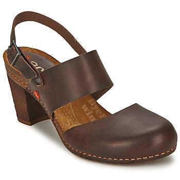 Chaussures Femme Sandales et Nu-pieds Art IMEET Marron