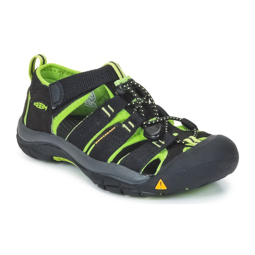 Chaussures Enfant Sandales sport Keen KIDS NEWPORT H2 Noir / Vert