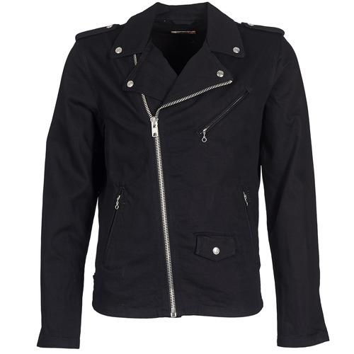 Vêtements Homme Vestes en jean Schott JOHNX Noir