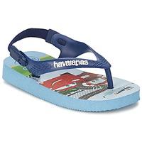 Chaussures Fille Tongs Havaianas PIXAR LAVDENDAR BLUE