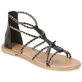 Chaussures Femme Sandales et Nu-pieds Eden MAYRA Noir