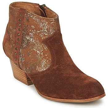 Chaussures Femme Bottines Schmoove WHISPER VEGAS Marron / Glitter