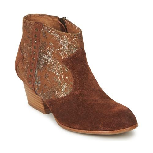 Chaussures Femme Bottines Schmoove WHISPER VEGAS Marron / Glitter