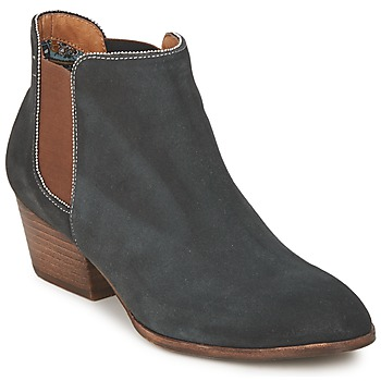 Chaussures Femme Boots Schmoove WHISPER CHELSEA Marine / Marron