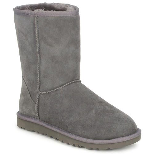 Chaussures Femme Boots UGG CLASSIC SHORT Grey