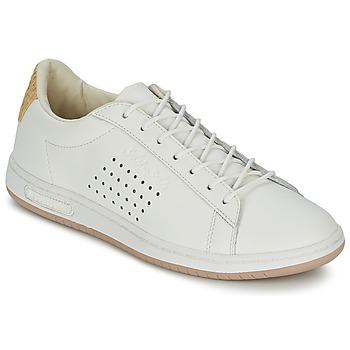 Chaussures Baskets basses Le Coq Sportif ARTHUR ASHE RAFFIA Crème