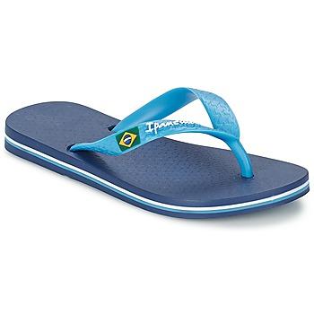 Chaussures Enfant Tongs Ipanema CLASSICA BRASIL II Bleu