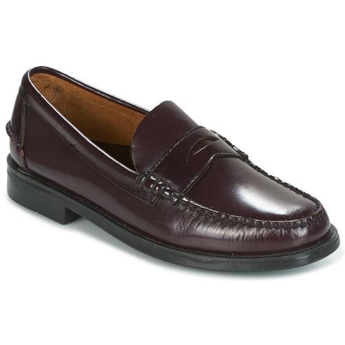Chaussures Homme Mocassins Sebago GRANT Aubergine